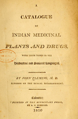 Indian botanicals and heritage wars | Wellcome Collection